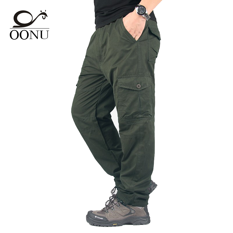 OONU 2017 Winter Double Layer Men's Cargo Pants Warm Baggy ...