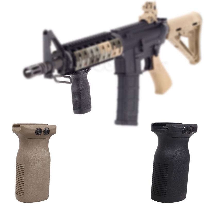Light Weight RVG Rail Vertical Handle Grip For 1913 Picatinny Rail Hand Guards Toy Gun Accessories for NERF toy gun