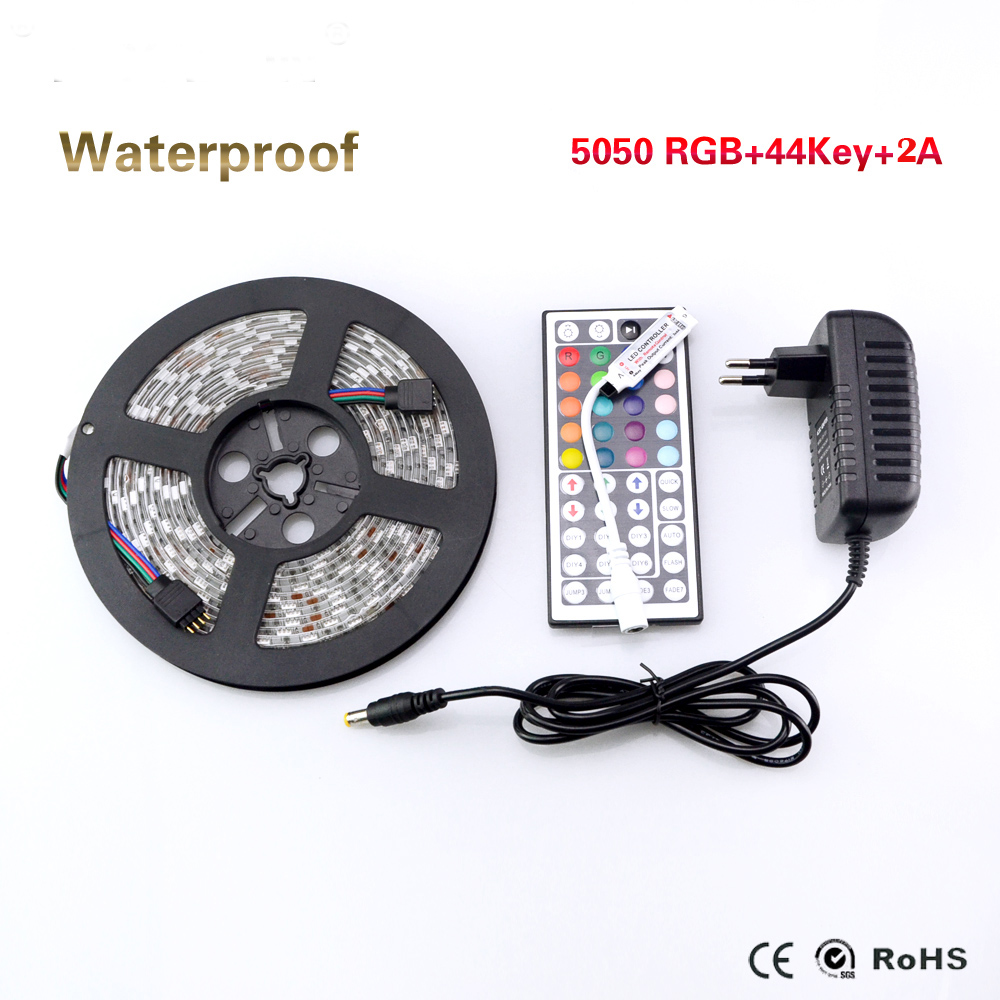 Waterproof rgb led strip light 5050 smd fita de led tiras - Tiras de led exterior ...