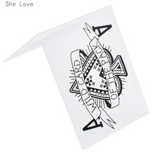 She Love Poker A Plastic Template Embossing Folder For Scrap
