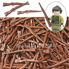 Military soldier Rifle Germany suit 98k Weapon Set Building Blocks Lot World War 2 Figures Battlefield Army Toy Gift YouZhengle(China)