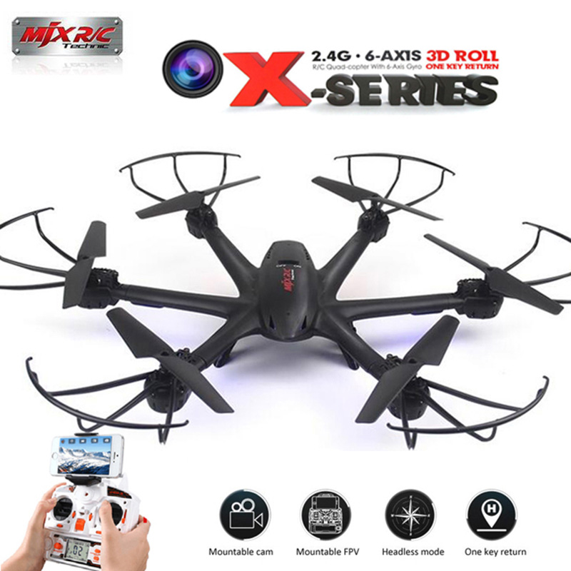 MJX X600 Headless Mode 2.4GHz 6 Axis Gyro RC Drones With 3D Roll Stumbling Quadcopter Remote Control Helicopter One Key Return q929 mini drone headless mode ddrones 6 axis gyro quadrocopter 2 4ghz 4ch dron one key return rc helicopter aircraft toys