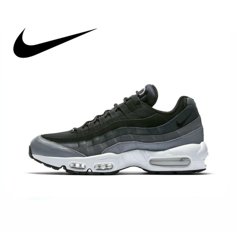 Original authentique NIKE AIR MAX 95 essentiel hommes chaussures de course tendance respirant sports de plein AIR jogging confortable 749766