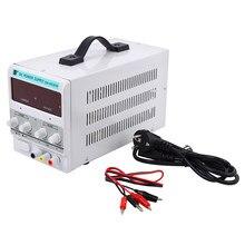 Yonntech – alimentation électrique de laboratoire numérique 0-30V 0-5A, haute précision, transformateur DC réglable