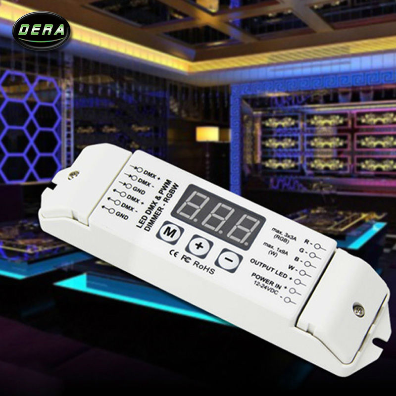 DMX512 Decoder LED RGB+W strip decoder / RGBW 4ch DMX Decoder xiaguan цзя джи tuo cha пуэр чай 2014 сырье 100г