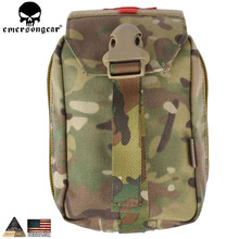 EMERSONGEAR Tactical First Aid Pouch Molle Kit Medical Bag Military Utility Pouch Paintball EDC Bag Multicam Black EM6368