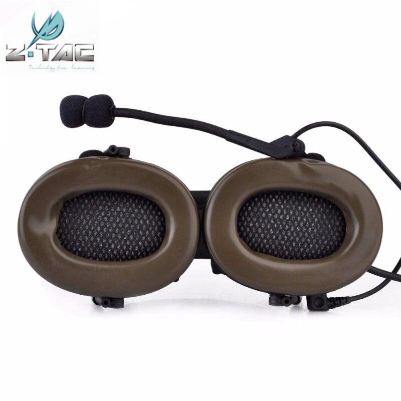 ouvido com cancelamento ruído ativo softair militar z041