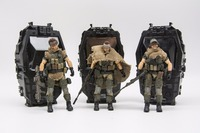 JOY TOY 1/18 action figure soldiers(3pcs/lot) WEST ASIAN MERCENARY LEGION model doll Free shipping RD18070