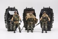 JOY TOY 1/18 action figure soldiers(3pcs/lot) WEST ASIAN MERCENARY LEGION model doll Free shipping RD18070