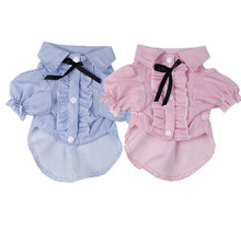 Fashion Party Dog Clothes Shirt Nice Bow Tie very cute dog clothing Poodle Yorkshire Chihuahua pet dog costume цена
