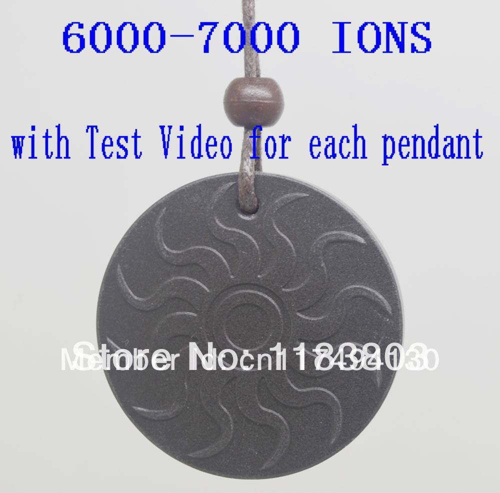 6000~7000 ions with Test Video free shipping10pcs/lot flame fire Quantum Scalar Energy Pendant with Card for each pendant
