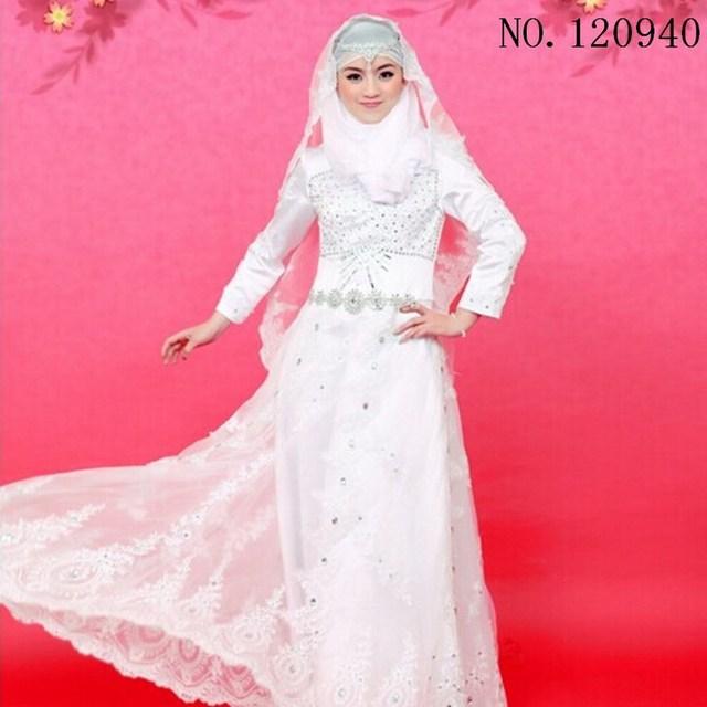Magnífico Vestidos De Novia Musulmanes Para La Venta Bosquejo ...
