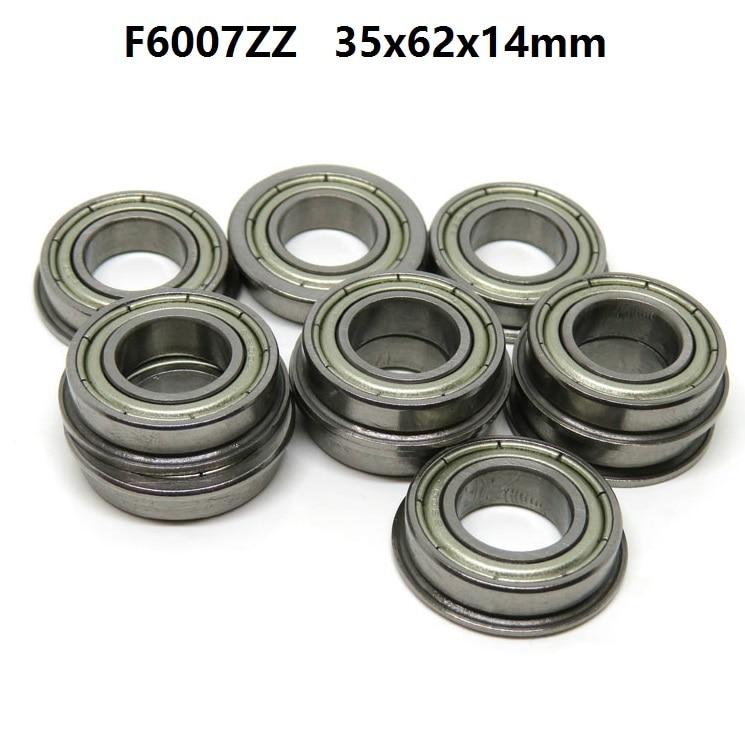 5pcs/10pcs Flanged bearing F6007ZZ F6007 ZZ 2Z Z 35x62x14mm miniature flange deep groove ball bearings 35*62*145pcs/10pcs Flanged bearing F6007ZZ F6007 ZZ 2Z Z 35x62x14mm miniature flange deep groove ball bearings 35*62*14