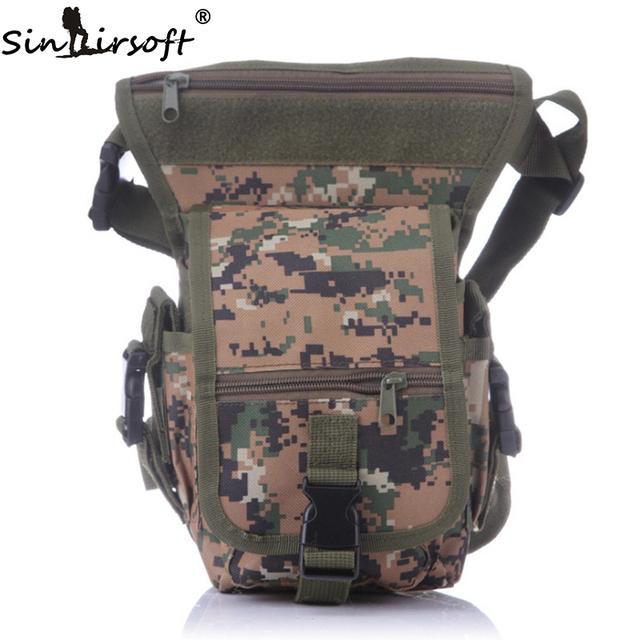 Hot Militar Pacote de Cintura Sacos de Armas Táticas Passeio Especial Gota Utility Cintura Sacos de Cintura BagsThigh Bolsa