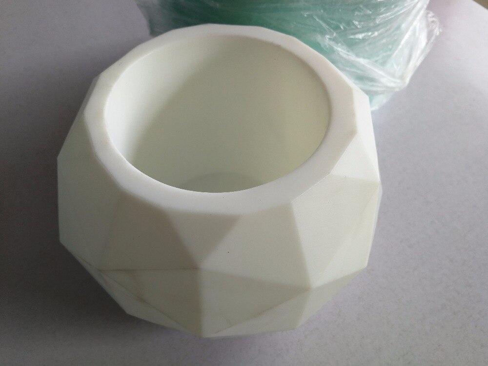 Silikon beton Formen zement größere größe Geodätischen Kugel Medium Wiederverwendbare Kerze Form Beton halter Mould Vase Formen pflanzer-in Backformen aus Heim und Garten bei  Gruppe 2