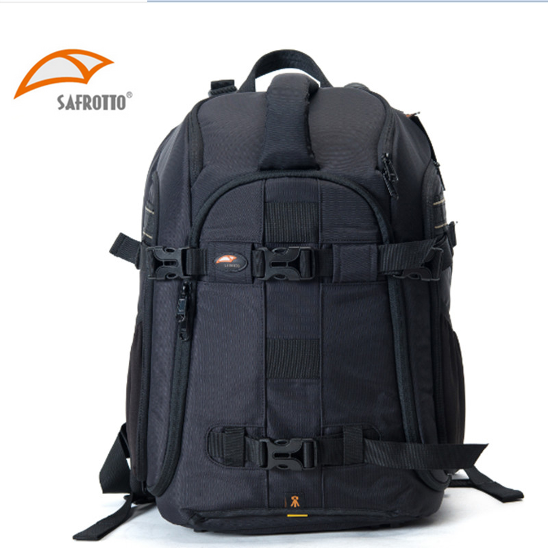 SAFROTTO Фоторюкзак многофункциональная камера рюкзак 900D нейлон DSLR сумка органайзер рюкзак с водонепроницаемым дождевик