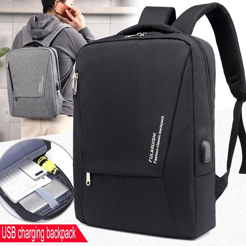 Mark Ryden Men's Backpack Fashion Multifunction Usb Charging Men 15inch Laptop Backpacks Bisiness Bag For Men Rated 5.0 /5 Based