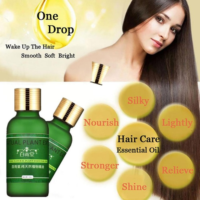1PC Hair Growth Essential Oils Conditioner Hair Oil Growth Repair Frizz For Dry Hairs Types Anti Hair Loss Health Care W3 1