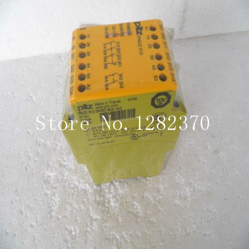 New PILZ safety relays PNOZ X13 24VDC 5n / o 1n / c spot 774549 new pilz safety relays pnoz x3 24vac 24vdc 3n o 1n c 1so spot