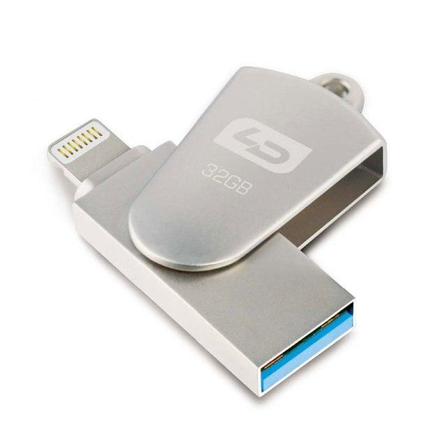 LD USB Flash Drive Для iPhone OTG Флэш-Накопители 32 Г Расширение Емкости Для iphone/ipad/iPod HD Memory Stick