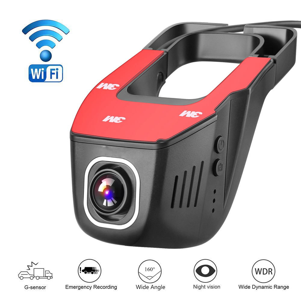 Car DVR DVRs Registrator Dash Camera Cam Digital Video Recorder Camcorder 1080P Night Version 96658 IMX 322 JOOY A1 WiFi v81 novatek 96655 imx 322 full hd 1080p mini camera car dvrs registrator dash camera cam digital video recorder camcorder