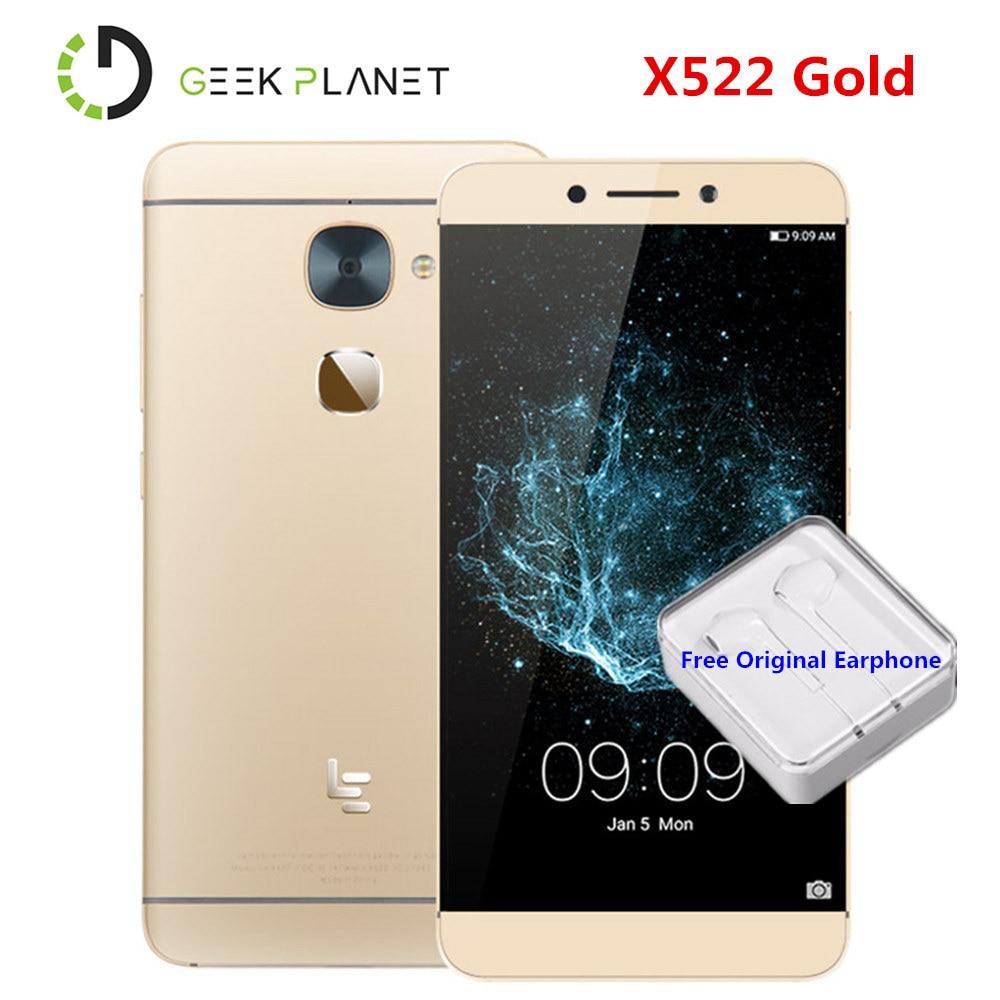 Новый LeEco LeTV Le S3 X522/Le 2X526 3 ГБ 4G B Оперативная память 32 ГБ Встроенная память FHD экран 5,5 дюйма смартфон LTE с Android 6,0 4G