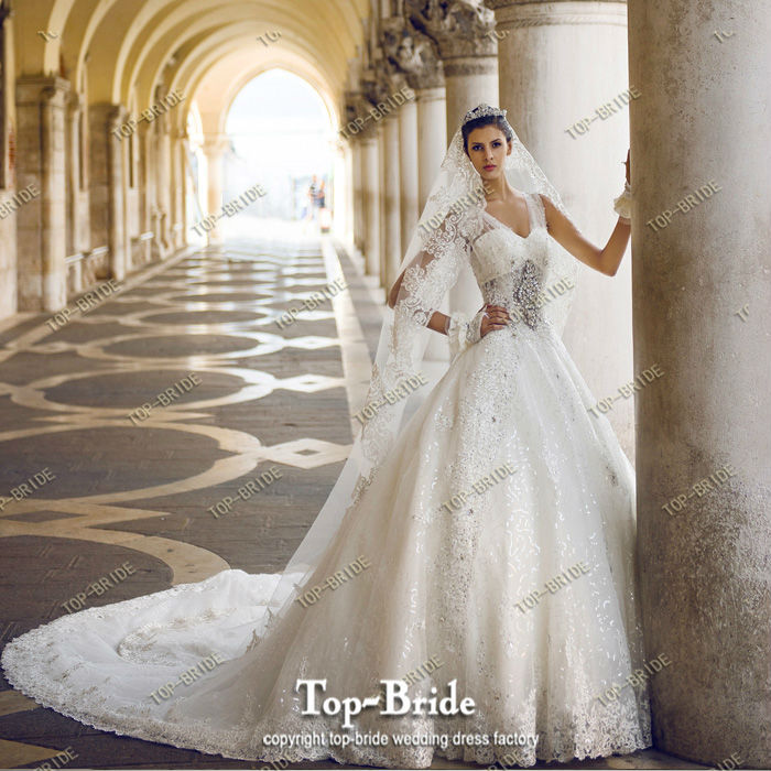 Top Bride Venice Real Photo Luxury High End Wedding Dresses S21442 And S21446 In From Weddings Events On Aliexpress Alibaba Group