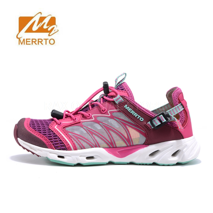 MERRTO Women Breathable Trekking Shoes Women Sandals Outdoor Walking Mountain Hiking Shoes For Women Aqua Shoes Sports Sneakers 2017 womens sports summer outdoor hiking trekking aqua shoes sandals sneakers for women sport climbing mountain shoes woman