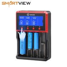 VONTAR 18650 USB зарядное устройство аккумулятора зарядка для 26650 14500 22650 18650 AA AAA литиевая батарея NiMH батарейки 3,7 V 12 V 24 V PK Lii-500 Sc4