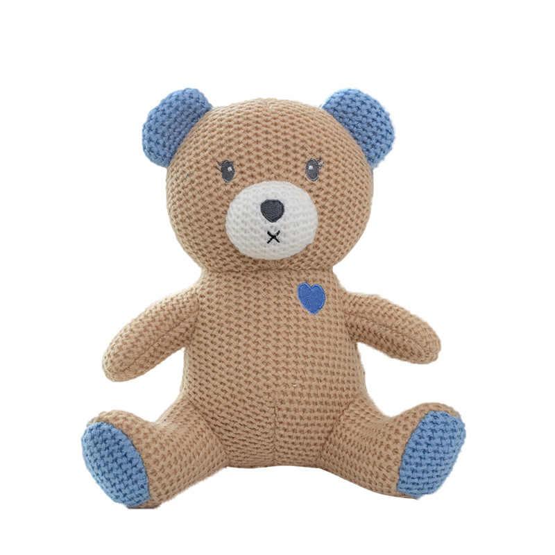 23 cm Tricô Brinquedos Meninos Meninas Bonecas Macias Do Bebê Urso Dos Desenhos Animados do Elefante Crianças Dinossauro Bonito Brinquedos de Pelúcia Crianças Presentes Crianças bonecas