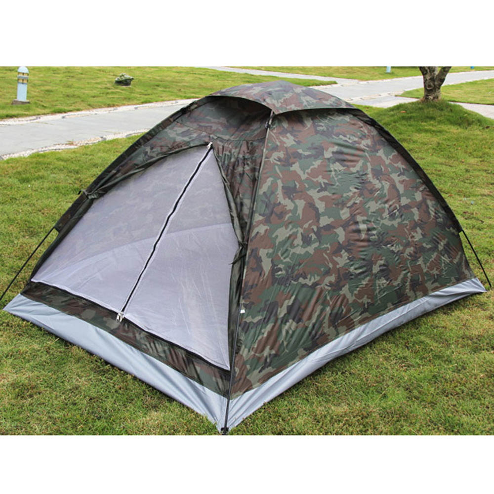 1 * C&ing Tent 4 * Tent Peg 2 * Tent Pole 1 * Carry Bag  sc 1 st  AliExpress.com & Outdoor Portable Beach Tent Camouflage Camping Tent for 2 Person ...