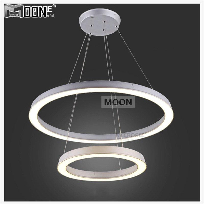 online store 55bf3 27f97 Pendant Lights Hanging Lamp Led Ring Lamp Fixture Aluminum ...
