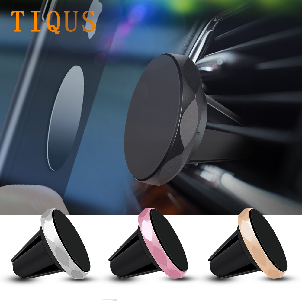 Car Phone Holder For iPhone XS X Samsung S9 Magnetic Air Vent Mount Mobile Smartphone Stand Magnet Car GPS For iPhone XS Max XR