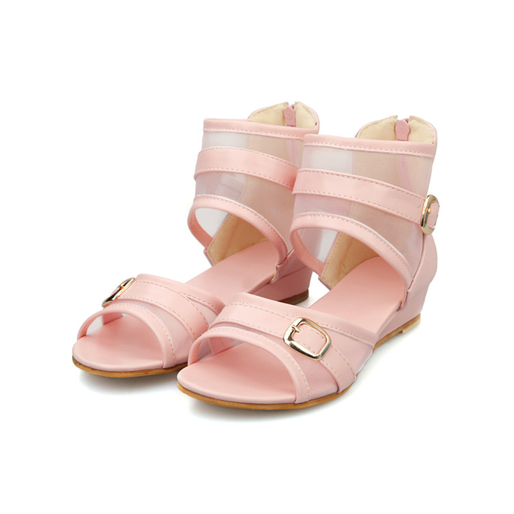 ФОТО 2017 New Promotion Gladiator Sandals Women Plus Size 34-43 Shoes Women Sandals Sapato Feminino Summer Style Chaussure Femme 323