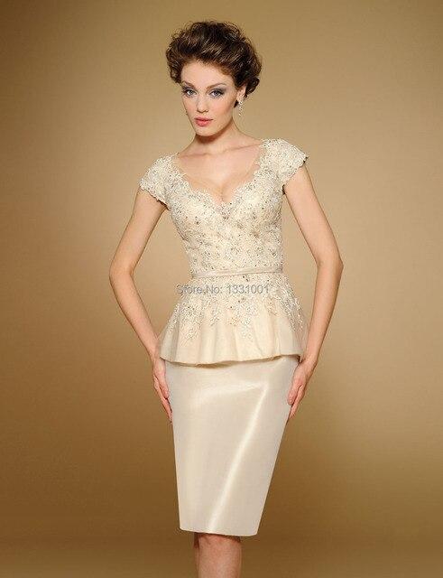 Vestidos De Fiesta Mother Of The Bride Short Dresses Plus Size