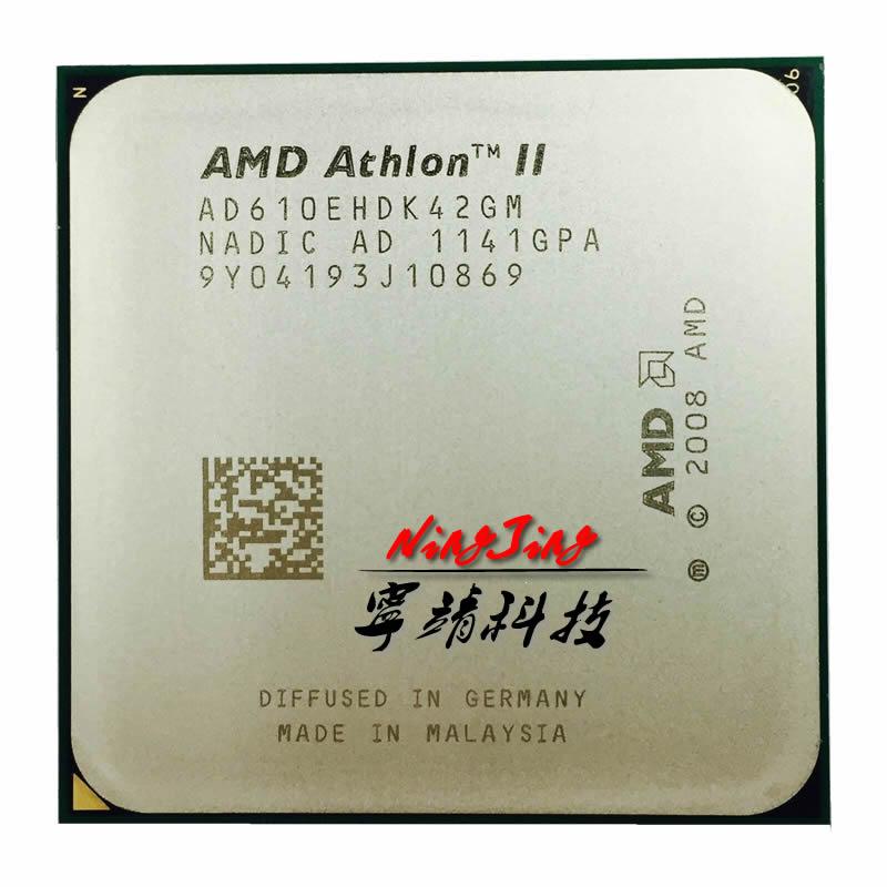 AMD Athlon II X4 610e 2.4 GHz Quad-Core CPU Processor AD610EHDK42GM Socket AM3