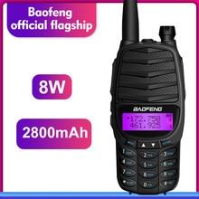 2019 new walkie talkie baofeng RS-UV800 two way radio 8w Dual-Band UHF&VHF Portable radio UV-82 PLUS Transceiver Ham Radio gift стоимость