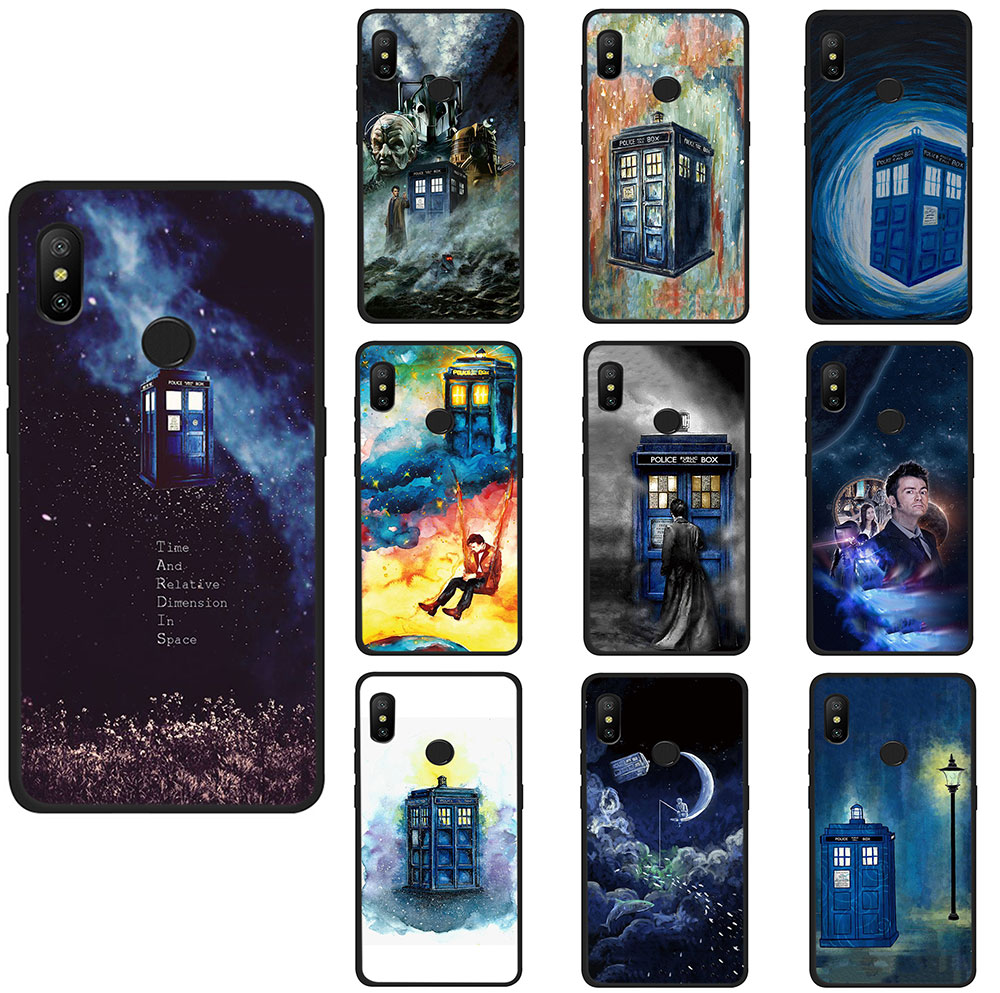 Objective Dr Doctor Who Police Call Box Tpu Phone Case For Xiaomi Mi 6 8 A2 Lite A1/5x A2/6x F1 Redmi Note 4 5 6a X Plus Pro Phone Bags & Cases