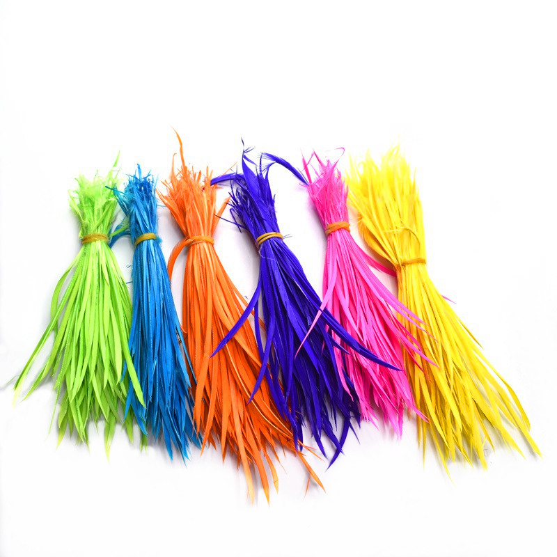 Wholesale Thin Soft Goose Biot Feather For Crafts 15-20cm DIY Turkey Feathers Dress/jewelry/wedding Hair Extensions Decoration