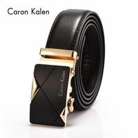 Caron Kalen Famous Brand Belt Men 100 Good Quality Cowskin Genuine Luxury Leather Men S