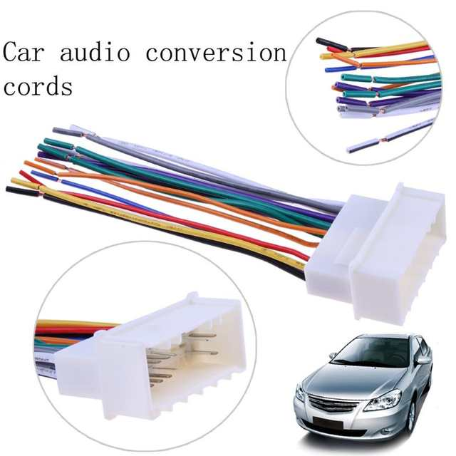 Online Shop Car Stereo CD Player Wiring Harness Wire Aftermarket