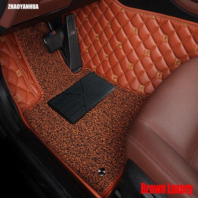 Heavy Duty Floor Mats >> Us 124 98 Zhaoyanhua Car Floor Mats Made For Hyundai Sonata Tucson Ix35 Heavy Duty Car Styling Foot Case Carpet Rugs Full Cover Liners 20 In Floor