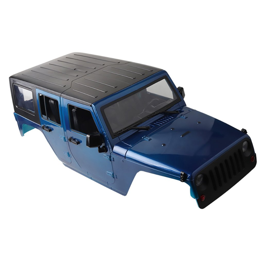 Plastic Car Shell 313mm Wheelbase for 1/10 RC Car Scx10 RC4WD D90 D110 Simulation Climbing Car Wrangler PartsPlastic Car Shell 313mm Wheelbase for 1/10 RC Car Scx10 RC4WD D90 D110 Simulation Climbing Car Wrangler Parts