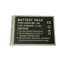 SOULMATE CNP-100 NP 100 lithium batteries pack CNP 100 Digital Camera Battery CNP100 For Casio EXILIM Pro EX-F1 DS260 FinePix