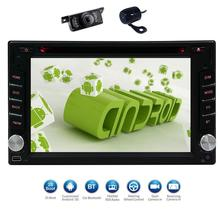 Android6.0 2din gps Capacitive Screen Car Stereo Radio DVD Player in Dash GPS Navigation Head Unit Wifi Free Front & Rear Camera