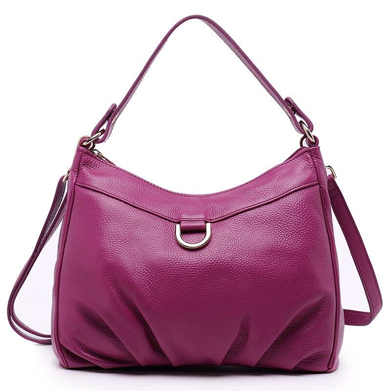 7cbfa101334 Новинка 2015 высокого качества натуральная кожа женские сумки большой  емкости Настоящее Теплые Посланник Сумки для женщин сумка K040