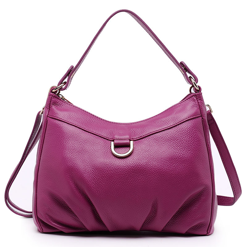 ФОТО 2015 new high quality genuine leather women handbags large capacity real cowhide messenger bags for women shoulder bag K040