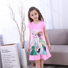 3a76e0548e Children Clothing Summer Dresses Girls Baby Pajamas Cotton Princess  Nightgown Kids Home Cltohing Girl Sleepwear Kids · 15 Colors Available