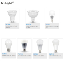 цена на Milight FUT103/FUT104/FUT013/FUT014/FUT015/FUT012/FUT105 4W 5W 6W 8W 9W 12W E14 GU10 MR16 E27 RGB CCT led Light Blub Spotlight
