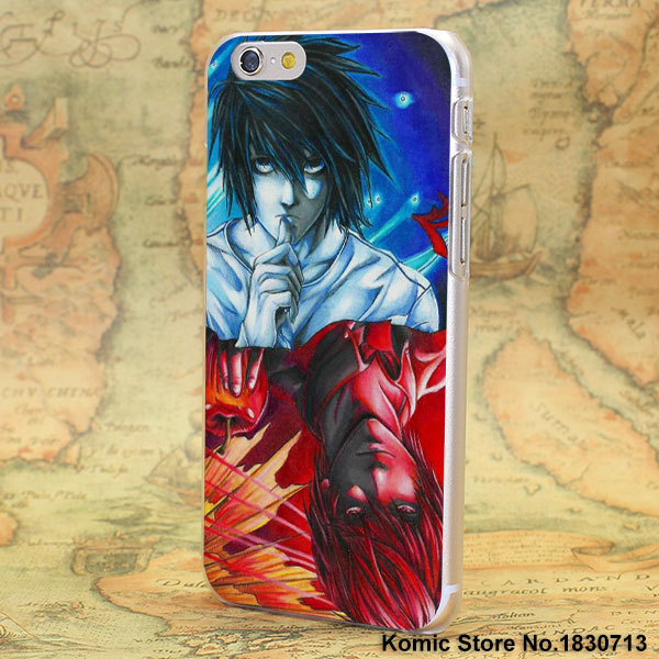 Death Note Hard Clear Cases for Apple iPhone